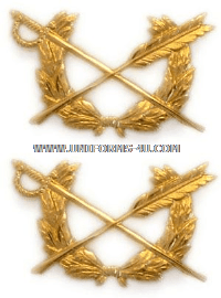 U.S. Army Judge Advocate General's Corps Collar Devices