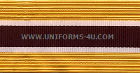 US Army Medical Department Cap / Sleeve Braids
