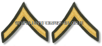 us army private chevrons
