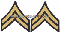 us army corporal chevrons