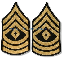 us army 1st sergeant chevrons