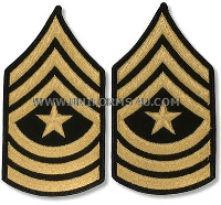 us army sergeant major chevrons