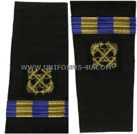 us navy soft shoulder board wo2  boatswain