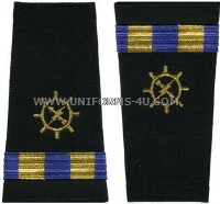 us navy soft shoulder board wo2 (ot) operations technician