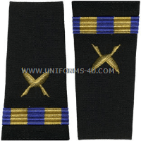 us navy cwo soft shoulder boards ship clerk