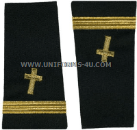 us navy soft shoulder board ensign christian chaplain