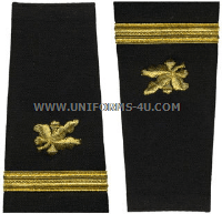 us navy soft shoulder board ensign supply corps