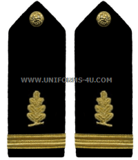 U.S. Navy Medical Service Corps Hard Shoulder Boards