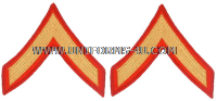 usmc private first class chevrons