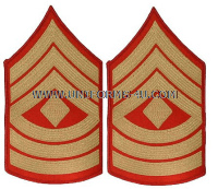 usmc first sergeant chevrons