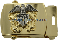 us navy officer belt buckle