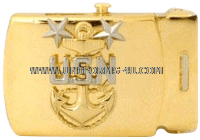 US Navy Master Chief Petty Officer Belt Buckle
