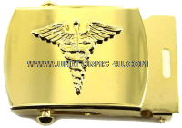 us navy belt buckle with caduceus