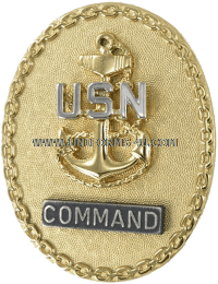 U.S. Navy Senior Enlisted Leader Identification Badges