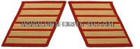 marine corps service stripes set of 6