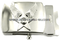 air force general mirror finish buckle