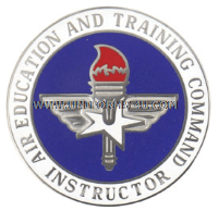 air education and training command basic instructor badge