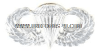 usaf basic parachutist badge