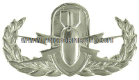 usaf explosive ordnance disposal badge