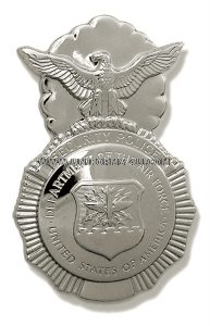 usaf security police badge