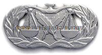 usaf paralegal badge