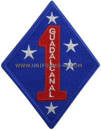 marine corps 1st division patch