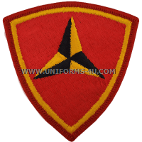Marine corps 3rd division Patch