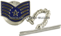 air force tie tack / clasp staff sergeant