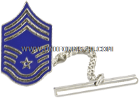 air force tie tack / clasp chief master sergeant