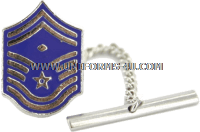 AIR FORCE tie tack / clasp senior master sergeant with diamond