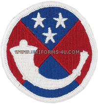 125 army reserve command full color patch