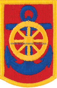 125 transportation command full color patch