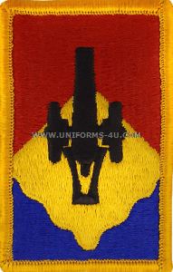 135 field artillery brigade full color patch