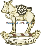 US Army 2nd Field Artillery Regiment Unit Crest