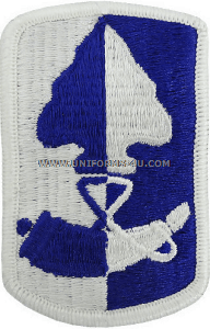187 infantry brigade full color patch