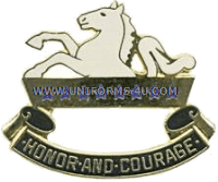 US Army 8th Cavalry Regiment Unit Crest