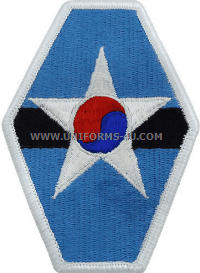 US Army Republic of Korea Combined Field patch
