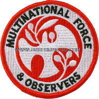 multi -national force and observers full color patch