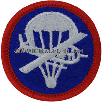 paraglider officer right full color patch