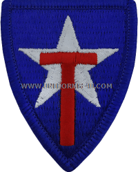texas state guard full color patch