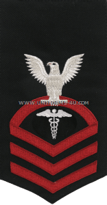 U.S. Navy Hospital Corpsman (HM) Rating Badge