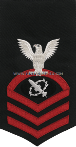 U.S. Navy Missile Technician (MT) Rating Badge