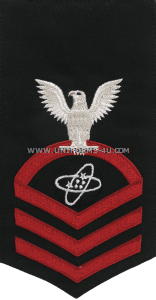 U.S. Navy Electronics Technician (ET) Rating Badge