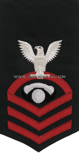 U.S. Navy Interior Communications Electrician (IC) Rating Badge