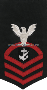 U.S. Navy Navy Counselor (NC) Rating Badge