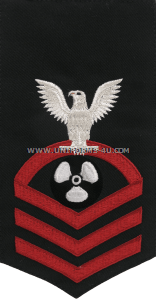 U.S. Navy Machinist's Mate (MM) Rating Badge
