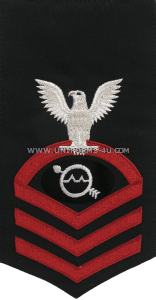 U.S. Navy Operations Specialist (OS) Rating Badge