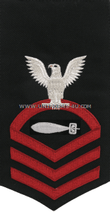 US Navy Torpedoman's Mate (TM) Rating Badge
