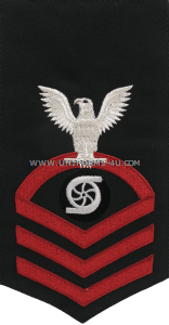 U.S. Navy Gas Turbine Systems Technician (GS) Rating Badge