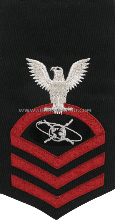 U.S. NAVY MASS COMMUNICATION SPECIALIST (MC) RATING BADGE